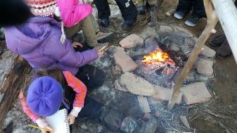 The coal burning crew